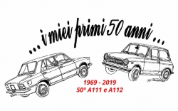 Parco Valentino and Autobianchi celebrate the 50th anniversary of the A111 and A112