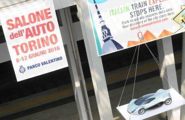 Installazione Porta Susa 16 - Salone Auto Torino Parco Valentino