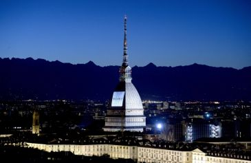 Proiezione Mole Antonelliana 3 - Salone Auto Torino Parco Valentino