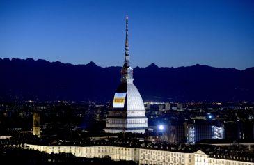 Proiezione Mole Antonelliana 8 - Salone Auto Torino Parco Valentino