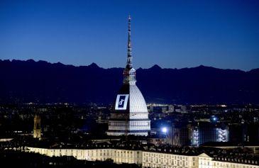 Proiezione Mole Antonelliana 19 - Salone Auto Torino Parco Valentino