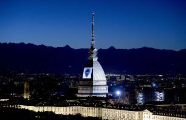 Proiezione Mole Antonelliana 40 - Salone Auto Torino Parco Valentino