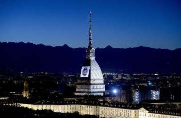 Proiezione Mole Antonelliana 41 - Salone Auto Torino Parco Valentino