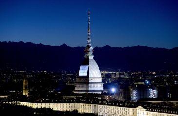 Proiezione Mole Antonelliana 56 - Salone Auto Torino Parco Valentino