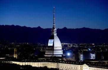 Proiezione Mole Antonelliana 57 - Salone Auto Torino Parco Valentino