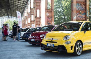 Raduno turin street Abarth 4 - Salone Auto Torino Parco Valentino