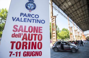 Raduno turin street Abarth 1 - Salone Auto Torino Parco Valentino