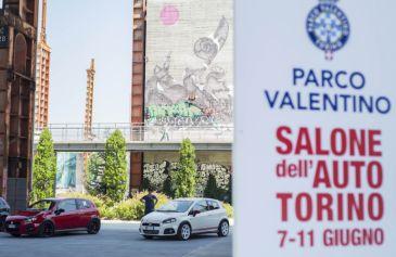 Raduno turin street Abarth 7 - Salone Auto Torino Parco Valentino