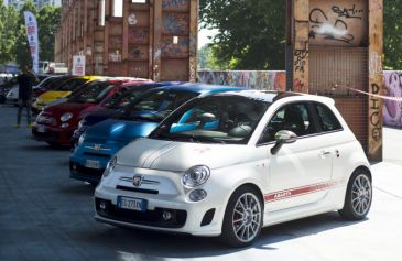 Raduno turin street Abarth 15 - Salone Auto Torino Parco Valentino