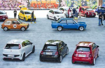 Raduno turin street Abarth 22 - Salone Auto Torino Parco Valentino