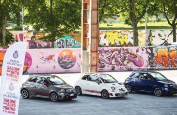 Raduno turin street Abarth 25 - Salone Auto Torino Parco Valentino