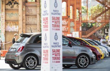 Raduno turin street Abarth 31 - Salone Auto Torino Parco Valentino