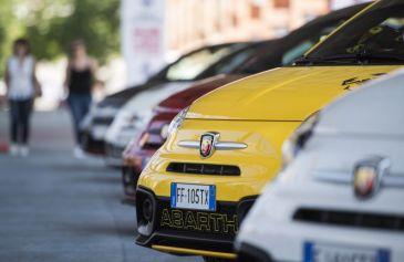 Raduno turin street Abarth 35 - Salone Auto Torino Parco Valentino