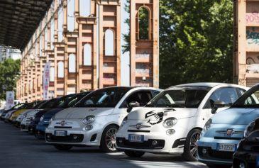 Raduno turin street Abarth 36 - Salone Auto Torino Parco Valentino