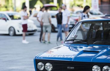Raduno turin street Abarth 37 - Salone Auto Torino Parco Valentino