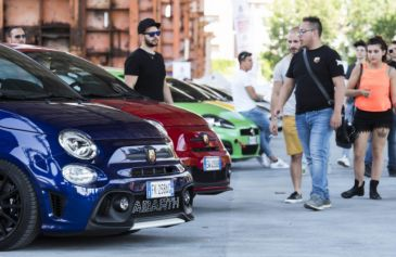 Raduno turin street Abarth 44 - Salone Auto Torino Parco Valentino