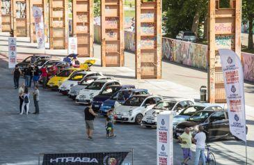 Raduno turin street Abarth 46 - Salone Auto Torino Parco Valentino