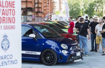 Raduno turin street Abarth 49 - Salone Auto Torino Parco Valentino