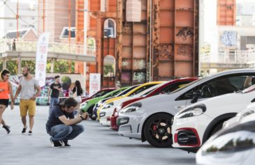 Raduno turin street Abarth 51 - Salone Auto Torino Parco Valentino