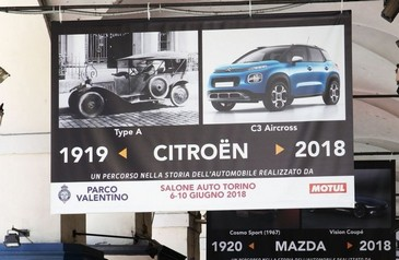 An itinerary through the automobile history 19 - Salone Auto Torino Parco Valentino
