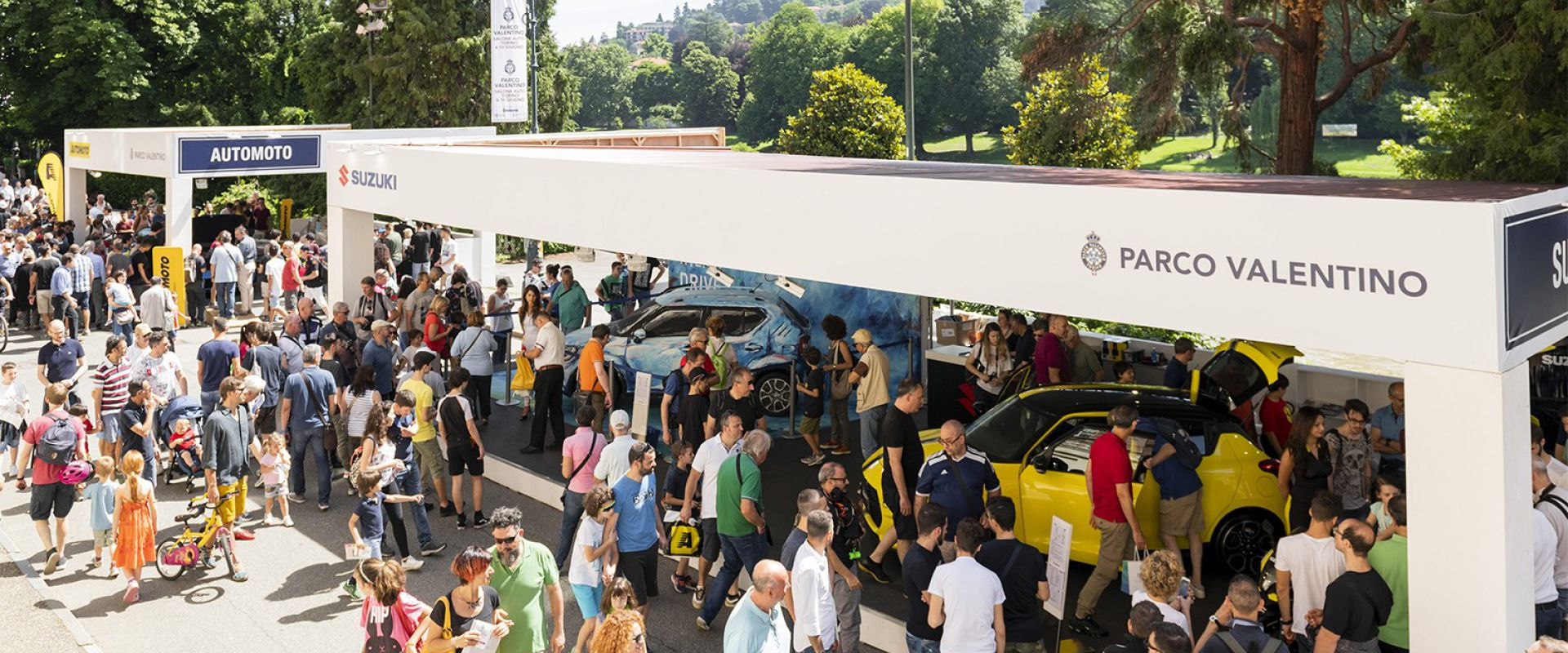 Turin Auto Show Parco Valentino - Salone Auto Torino