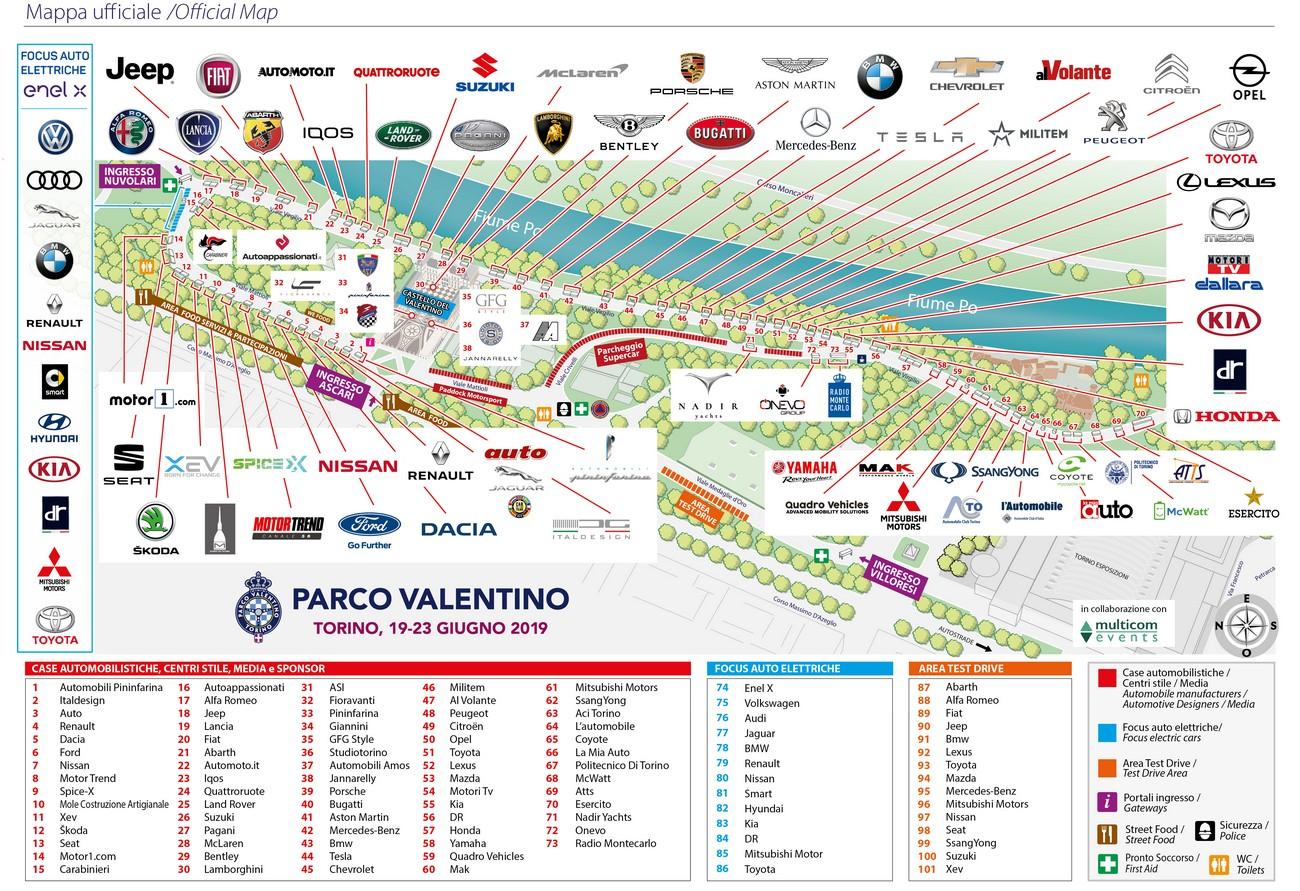 Mappa ufficiale evento