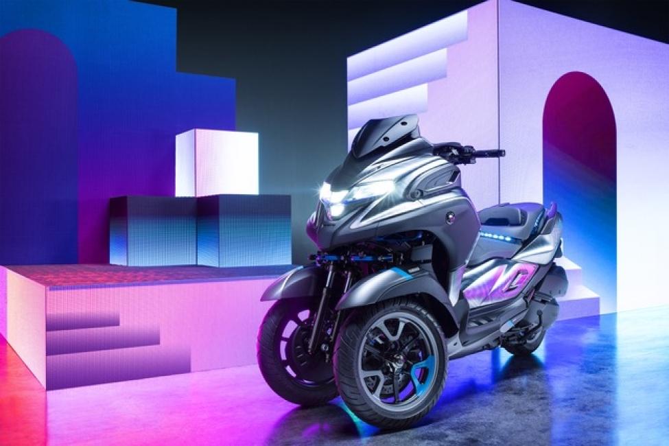 Yamaha debutta a Parco Valentino