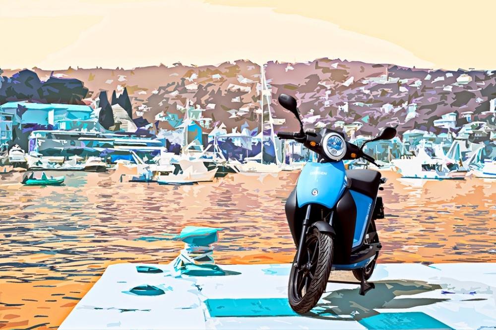 Quadro Vehicles presenta il due ruote elettrico Oxygen: leggero e colorato perfetto per muoversi in libertà nei centri storici e nelle isole 107