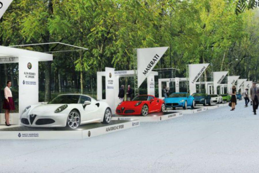 - 3 settimane al via di Parco Valentino, il nuovo Salone dell'auto all'aperto che si terrà a Torino