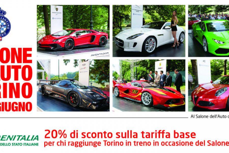 Con Trenitalia arrivi al Salone dell'Auto di Torino a tariffe agevolate