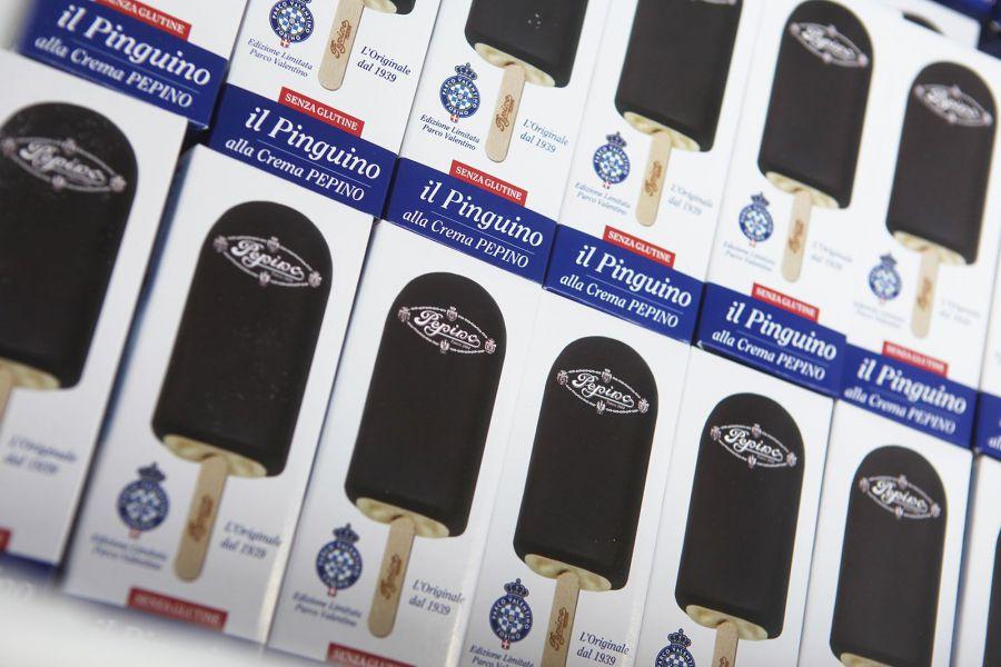 Il gelato ufficiale del Salone dell'Auto di Torino è il Pinguino di Pepino