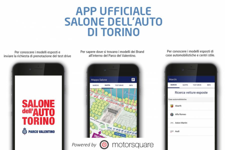 More than 4000 downloads of the official app Salone Auto Torino