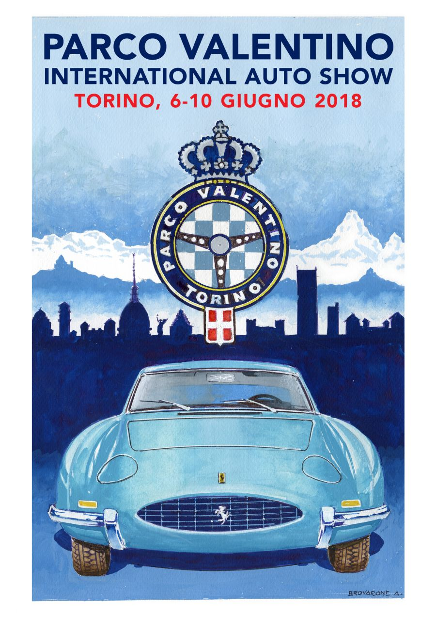Presentata la locandina ufficiale della 4° edizione di Parco Valentino Salone Auto Torino  6