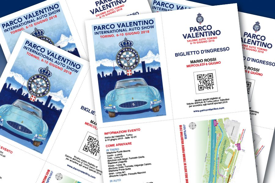 Free e-ticket: the news of Parco Valentino 4th edition