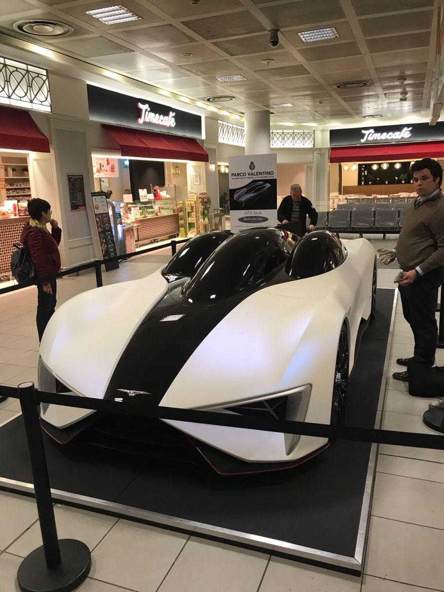 Mostra fotografica e prototipi GFG e Pininfarina all'Aeroporto di Torino 19