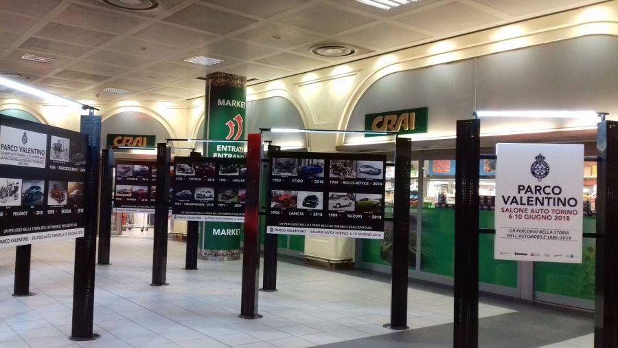Mostra fotografica e prototipi GFG e Pininfarina all'Aeroporto di Torino