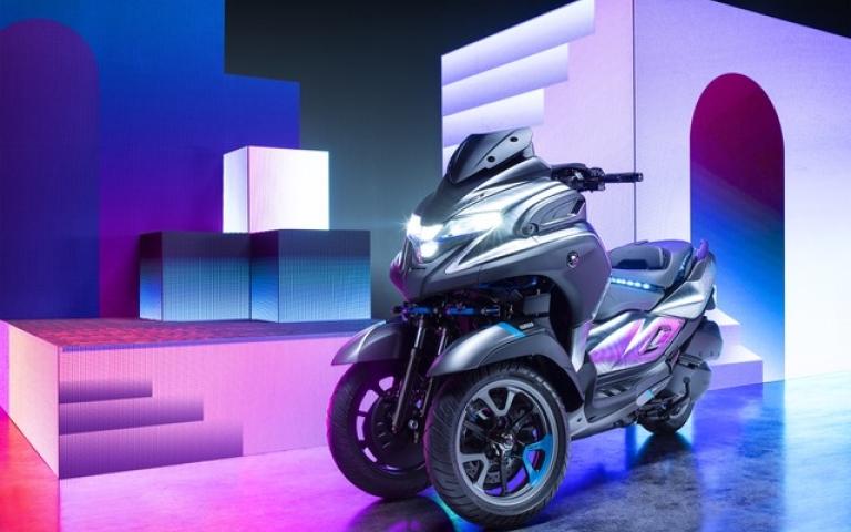 Yamaha debuts at Parco Valentino