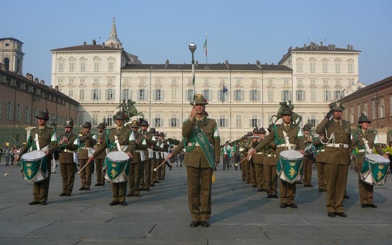 """La Fanfara della Brigata Alpina """"Taurinense"""""""