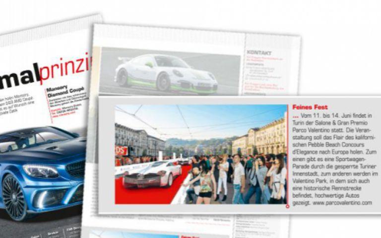 Parco Valentino sbarca in Germania: AutoBuild Sports Cars parla dell'evento