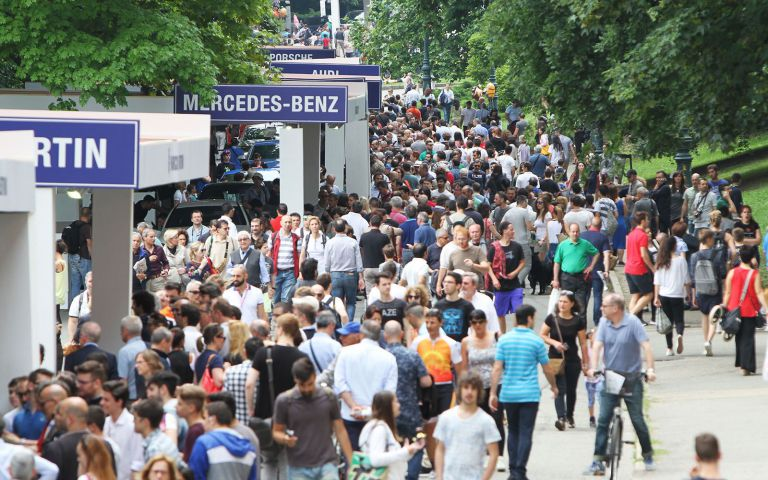 The car show concluded with 650.000 visitors and 2017 edition is already in the air