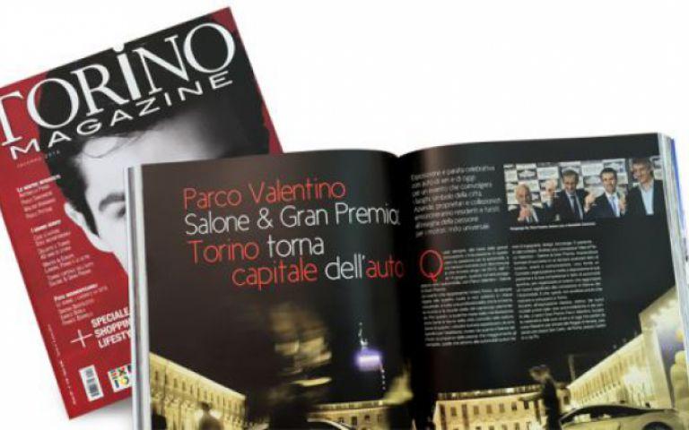 Parco Valentino in edicola su Torino Magazine