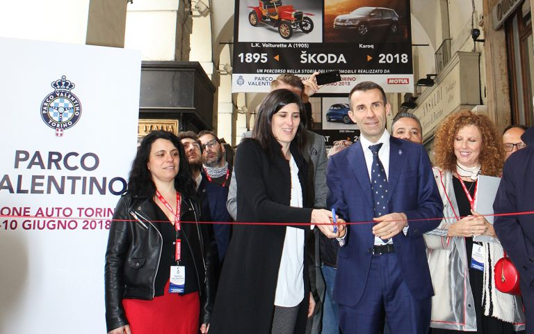 """Inauguration of the exhibition """"An itinerary through the automobile history"""""""